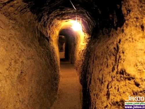 نوش آباد، بزرگترین شهر زیرزمینی جهان
