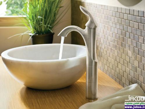 قرار دادن گیاهان در حمام
