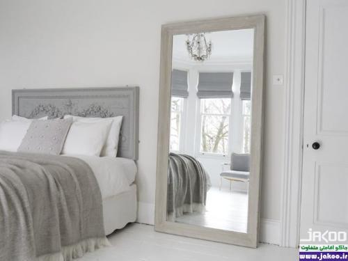 بزرگ تر کردن فضای آپارتمان های کوچک از طریق استفاده از آینه