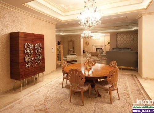 آپارتمان لوکس 23 میلیارد تومانی در تهران