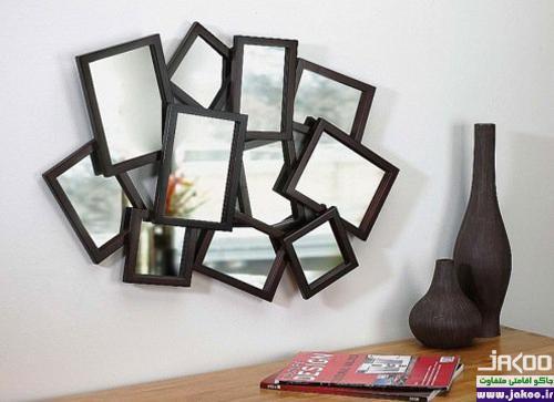 استفاده از آینه جهت بزرگتر نشان دادن منزل