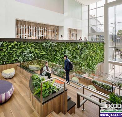طراحی فضای سبز عمودی در منزل