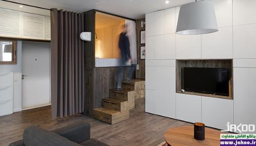 معماری آپارتمان های کوچک
