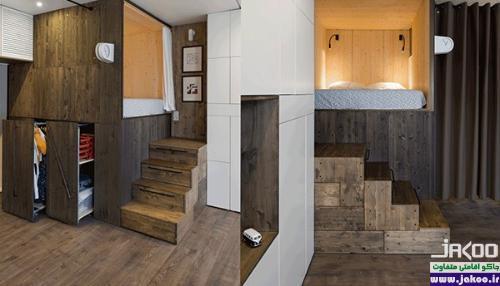 استفاده بهینه از فضای آپارتمان های کوچک