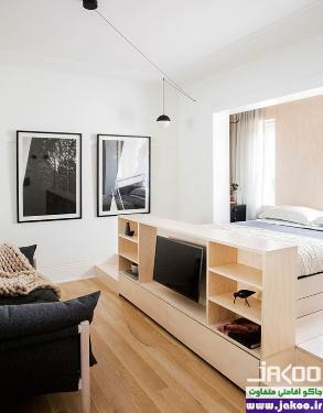 روش های خلاقانه برای بزرگ کردن فضای آپارتمانه ای کوچک