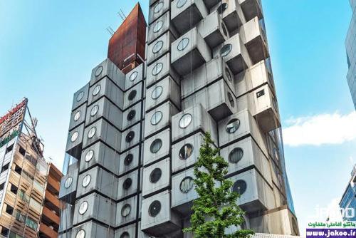 آپارتمان های کوچک ناکاگین در ژاپن