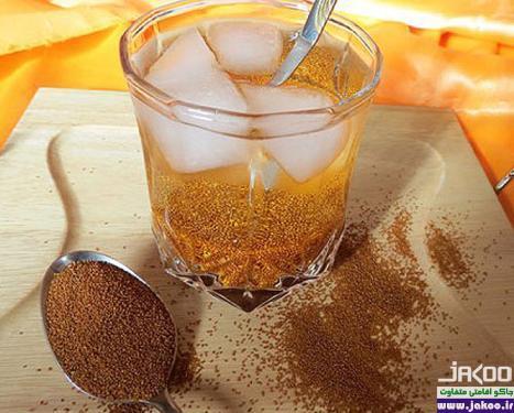 نوشیدنی های موثر در رفع عطش، خاکشیر