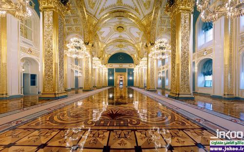 بازدید از کاخ کرملین در مسکو