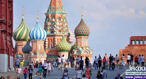 بازدید از میدان سرخ روسیه