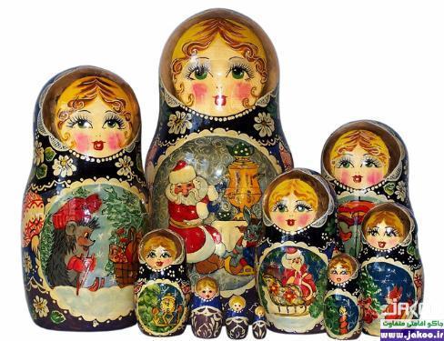 سوغاتیهای روسیه