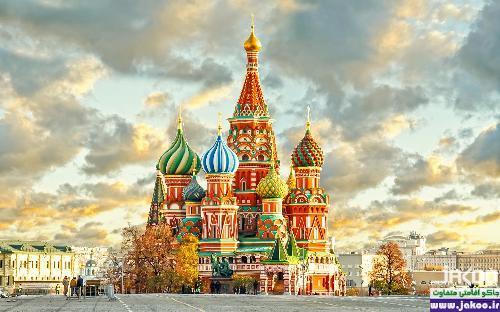مناطق مسکونی با نمای رنگ سیمان خاکستری در روسیه