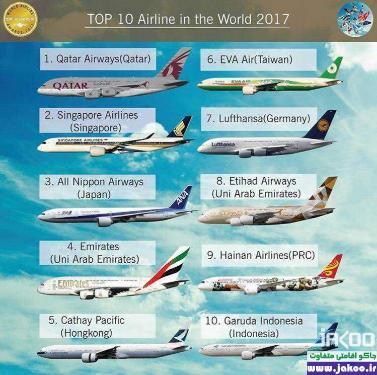 شرکت هواپیمایی قطر، بهترین خط هوایی جهان