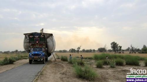 کامیون های زیبا و هنری در جاده های پاکستان