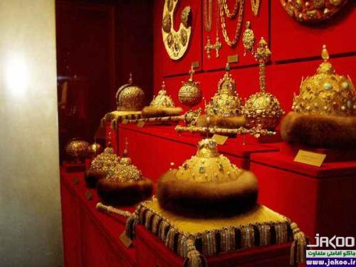 قدیمیترین موزه جواهرات جهان در زرادخانه کرملین