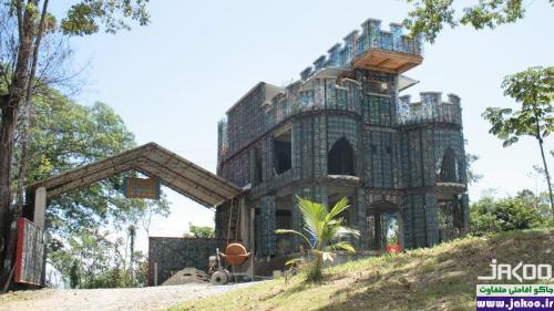 قلعه ای با شیشههای پلاستیکی در پاناما