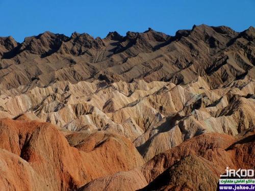 کوه های مریخی نهبندان