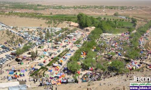 منظره زیبا و طبیعت بکر در کویر یزد