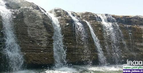 آبشار پورا در سیستان و بلوچستان