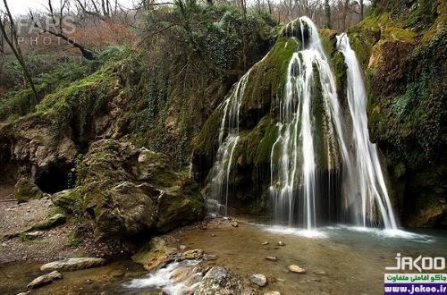 سرسبزترین آبشار ایران در استان گلستان
