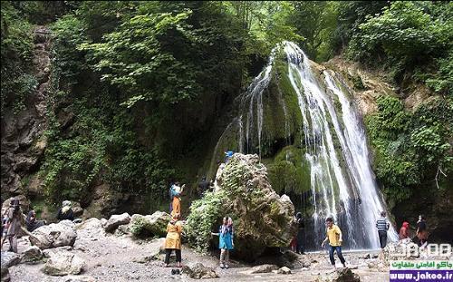تنها آبشار خزهای ایران به نام کبودوال