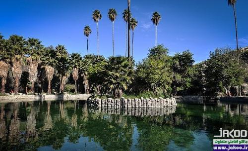باغ زیبا و دلنواز چشمه بلقیس چرام