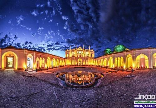 باغ عمارت دیدنی بیگلربیگی کرمان