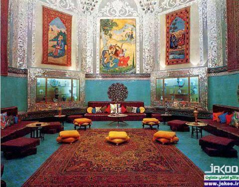 نمای داخلی کاخ تاریخی و زیبای صفیآباد بهشهر