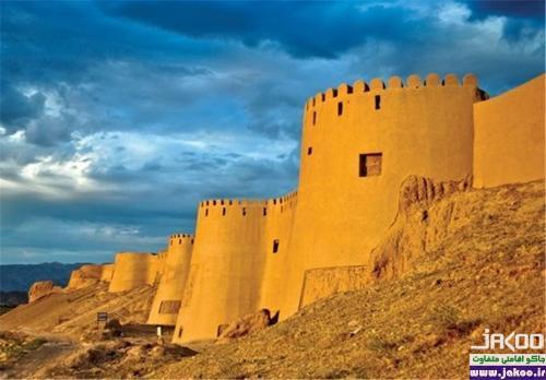 دومین بنای خشتی ایران در  اسفراین