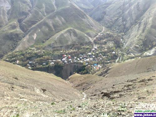 روستای سرسبز ورزن در جاده چالوس