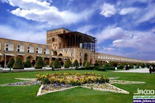 کاخ تاریخی عالی قاپو در اصفهان