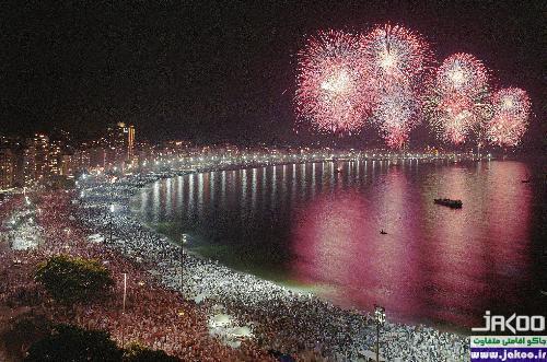 آداب و رسوم مردم برزیل در شب سال نو