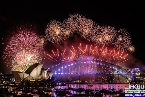 آداب و رسوم مردم استرالیا در شب سال نو