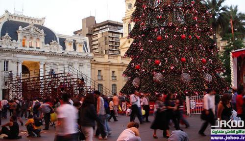 آداب و رسوم مردم شیلی در شب سال نو