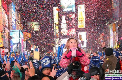آداب و رسوم مردم آمریکا در شب سال نو
