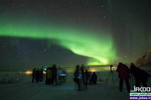 بهترین مکان برای دیدن شفق قطبی