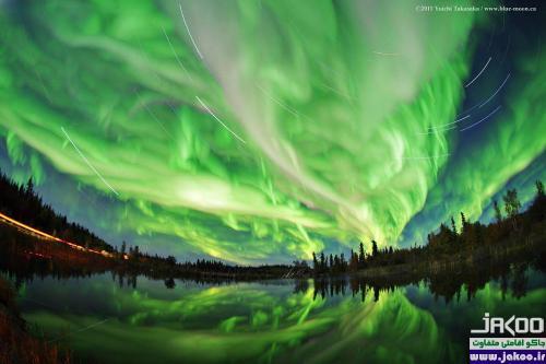 گردشگری طبیعت، تماشای پدیده فوق العاده زیبای شفق قطبی