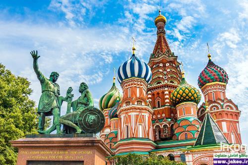 تاریخی ترین مکان های گردشگری مسکو، کلیسای جامع سنت باسیل