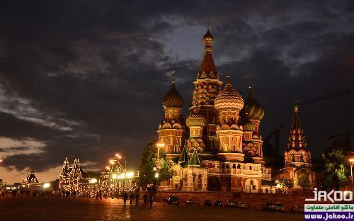 بلندترین سازههای شهر مسکو، کلیسای جامع سنت بازل