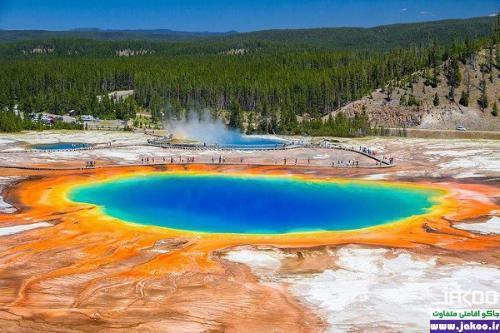 دیدنی ترین دریاچه های جهان، دریاچه بزرگ پریسماتیک در آمریکا