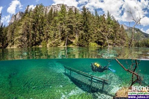 دیدنی ترین دریاچه های جهان، دریاچه سبز اتریش