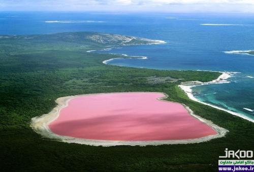 دیدنی ترین دریاچه های جهان، دریاچه صورتی استرالیا