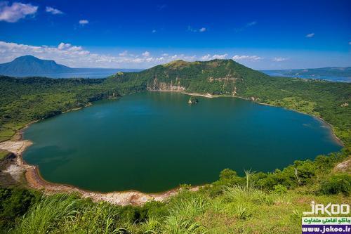 دیدنی ترین دریاچه های جهان، دریاچه ی تال در فیلیپین