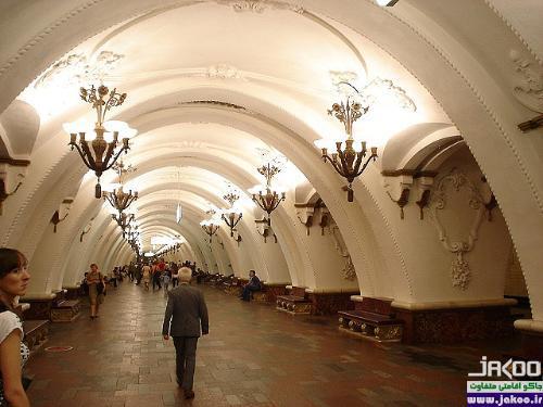 متروی دیدنی شهر مسکو