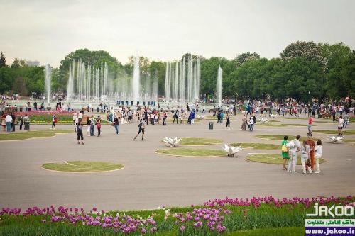 پارک گورکی شهر مسکو