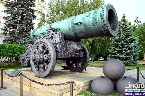 توپ تزار شهر مسکو