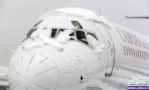 سفر با هواپیما در فصل سرد زمستان