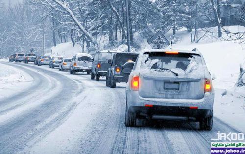 سفر با خودرو در فصل زمستان