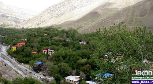 محله کوهستانی کن تهران